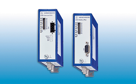 OZD Genius G12 and OZD Modbus Plus G12 Fiber Optic Repeaters