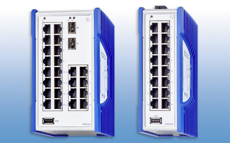 Spider Premium Line Switches With Up To 26 Ports