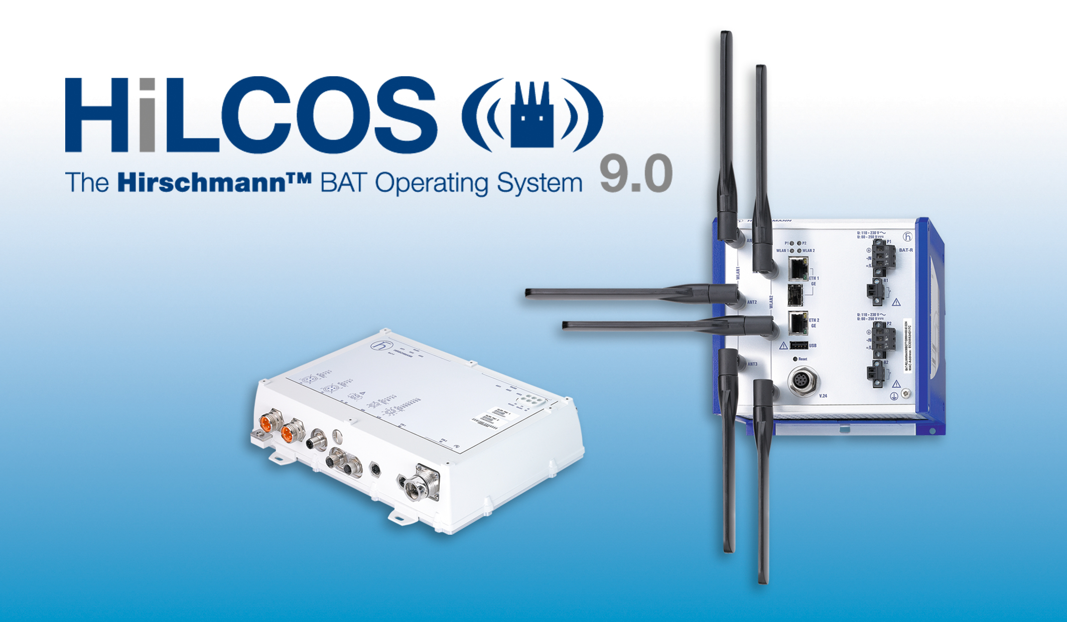 Hirschmann Hilcos 90 Software Ensures Maximum Network Availability Basic Structured Wiring Installation Adjacent To Security Panel And Data Across Wireless Connections