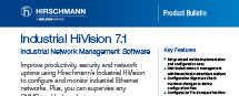 Product Bulletin Industrial HiVision 7.1