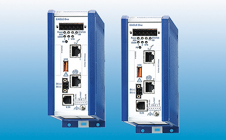 Hirschmann™ launches the new industrial security router EAGLE One